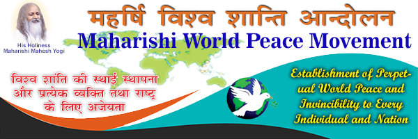 Maharishi world peace movement